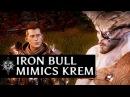 Dragon Age Inquisition - Iron Bull mimics Krem in the Fade