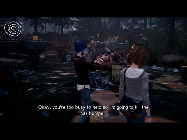 Life is Strange: Chloe shoots herself/Kids with guns