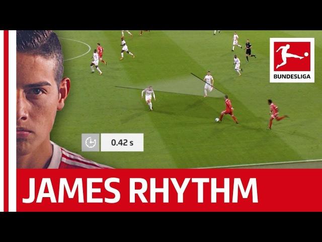 The James Rodriguez Rhythm Bayern's Superstar Analysed