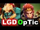OpTic vs LGD - DAY 2 Groups! - SUMMIT 8 Minor DOTA 2