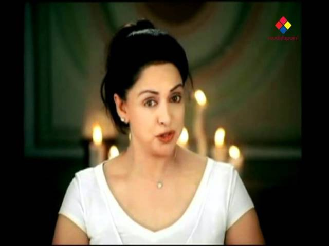 Hema Malini in Miraj Shuddh Oil Soap Commercial Ad - on www.modelspoint.com - israni