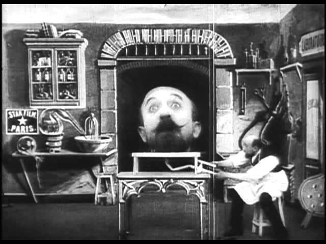 L'homme à la tête de caoutchouc – George Méliès (1901)