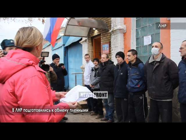 В ЛНР колонна с украинскими пленными выдвинулась к месту обмена