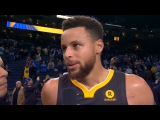 Stephen Curry Postgame Interview / GS Warriors vs Celtics
