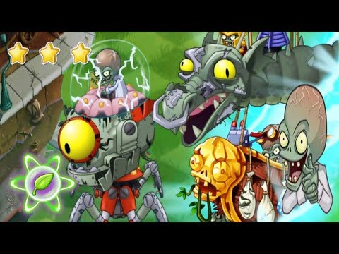 All Plants Max Level Vs All Zomboss Battles Fight ! in Plants vs Zombies 2(Chinese):Gameplay 2018