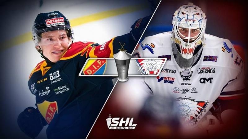 SHL - Slutspel - Djurgården Hockey - Linköping HC 2018-03-18