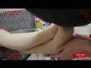 Worship facesitting and trampling nude pantyhose Chinese girl