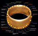 Звезда смерти и кольцо всевластия в виде нового кольца подземки.