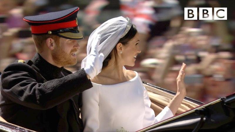Королевская свадьба: Платье, клятвы, поцелуй! Принца Гарри и Меган Маркл | Основные моменты в Виндзоре - BBC