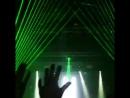 Пример работы лазера на концертах Руки Вверх В Карелии Кондопога