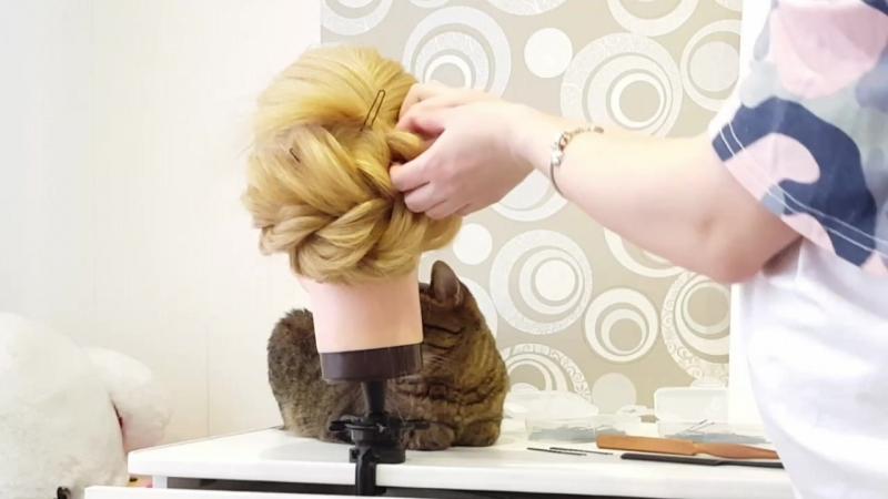 Аня Тарасова : прическа за 11 минут из прямых волос