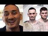 МАКС ХОЛЛОУЭЙ О БОЕ С ХАБИБОМ НУРМАГОМЕДОВЫМ НА UFC 223 ! РЕАКЦИЯ !
