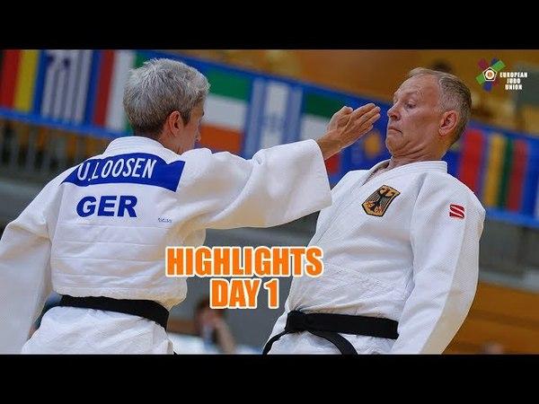 Kata European Judo Championships - Highlights Day 1