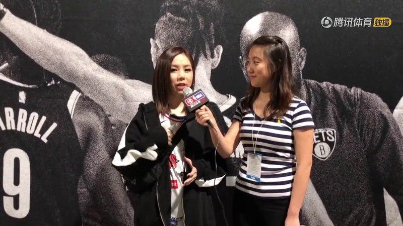 【騰訊體育專訪】鄧紫棋—想和林書豪合唱KTV 科比是跨界典範