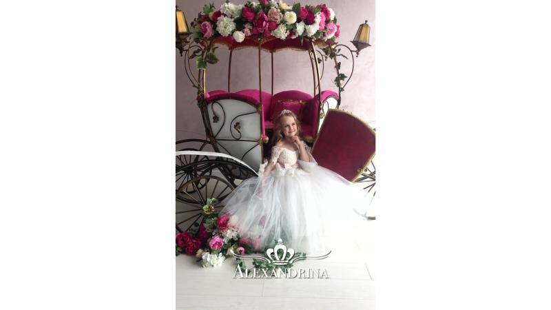 Сказочное детское бальное платье FG0049
