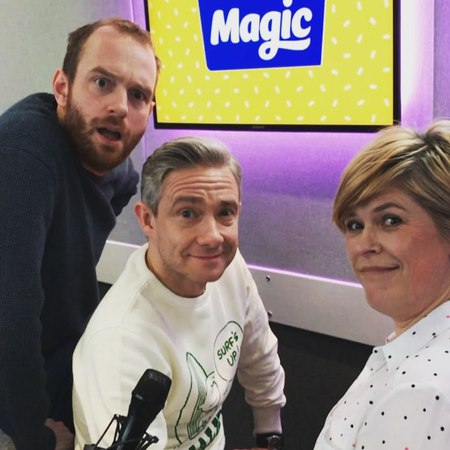 "Magic Radio on Instagram: ""Sharing everything from his new film GhostStories 👻 to BlackPanther 🎥 MartinFreeman has been sharing amazing stories ..."