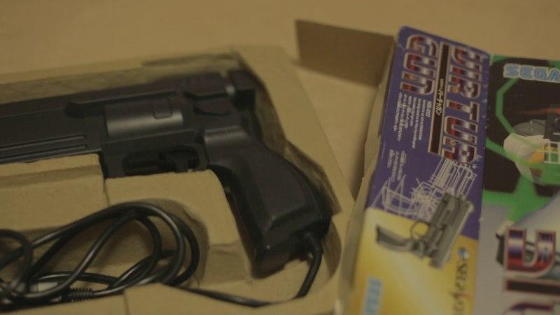 Darko Unboxing: Sega Saturn Virtua Gun Controller HSS-0122