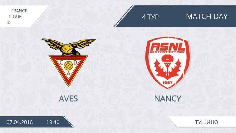 AFL18. France. Ligue 2. Group A. Day 4. Aves - Nancy