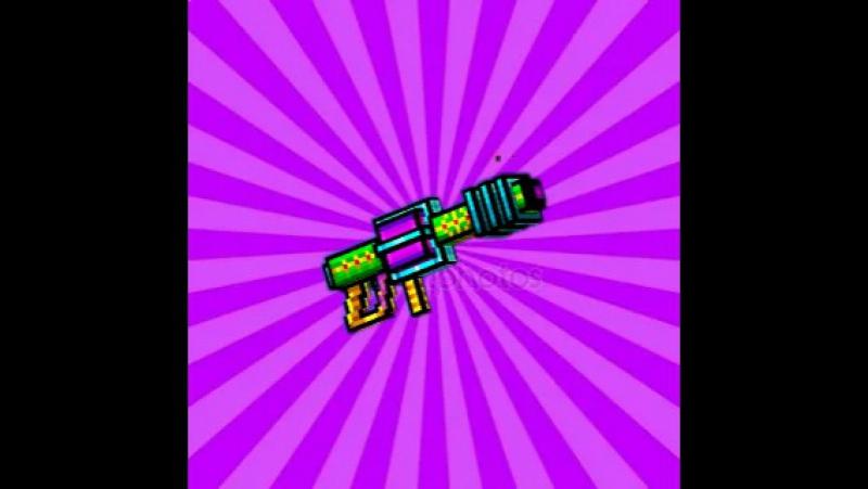 Пиксель ган 3д. Обзор на адамантовая лазерная пушка.