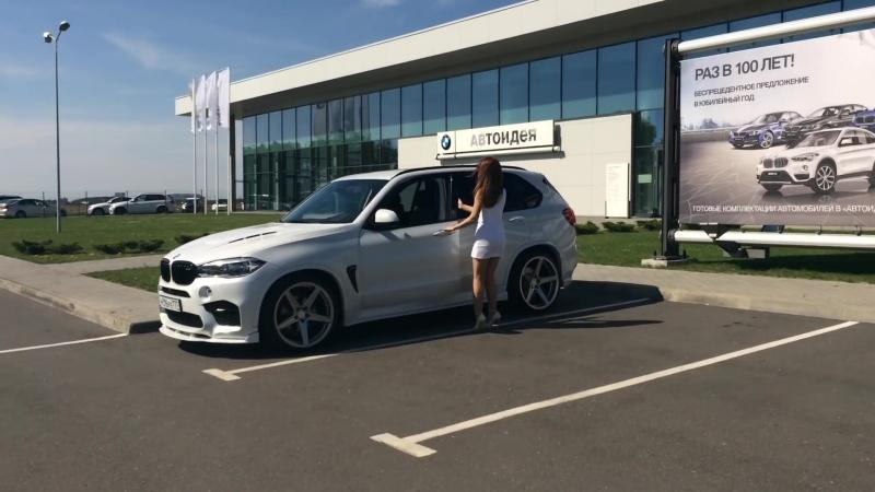 BMW X-5 M-Power Hamann Motor-Sport Красавчик