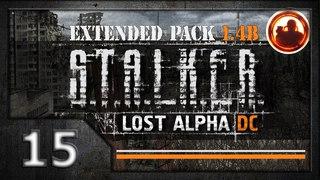 СТАЛКЕР Lost Alpha DC Extended pack 1.4b. Прохождение #15. Встреча с Болотным Доктором.