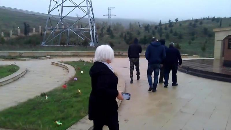 Legion gruppu türk əsgərinin məzarını ziyarət etdi