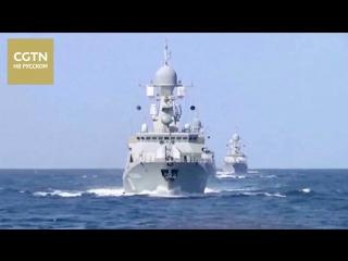 Учения войск ПВО РФ: Корабли Каспийской флотилии отразили налёт авиации условного противника
