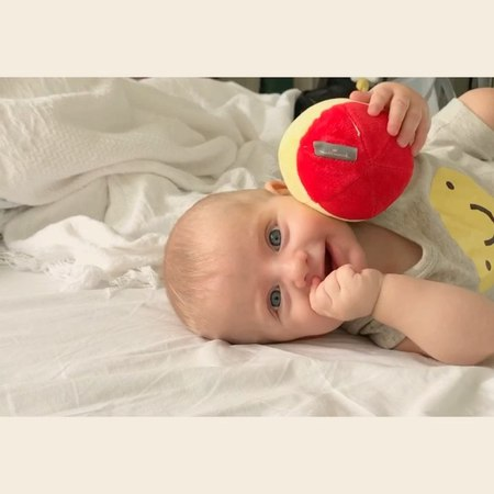 "Baby Kaleb Brincadeira matinal ❤️😄✌🏻"""