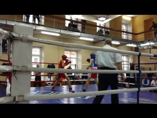 Могильников Иван на турнире по боксу памяти А.Гусева (финал)