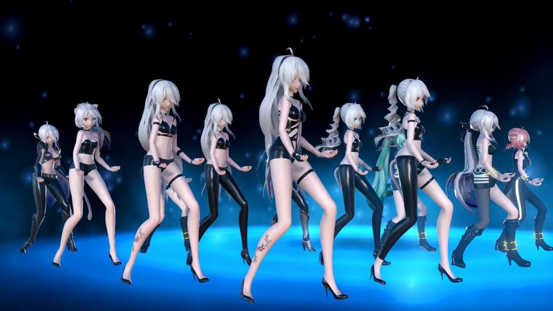 [MMD]1753 12 TDA SEXY GIRL Thriller [DL][1080P,60FPS][RAY MMD]