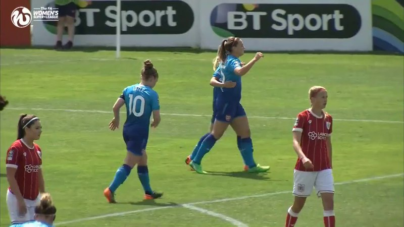 Bristol City 1 – 6 Arsenal - Match Highlights - FA WSL (21st May 2018)