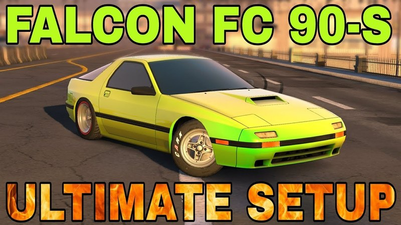 Falcon FC 90 s Ultimate Setup Test Drive Mazda RX7 FC3S Savanna TOP CAR CarX Drift Racing