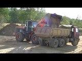 Hitachi ZW220 loading Tatra 815s1 part 3