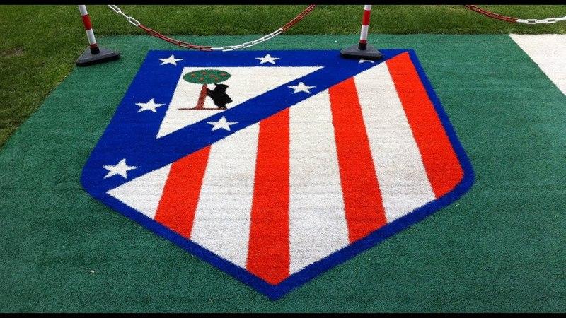 Y usted no pise este escudo, Atlético de Madrid.