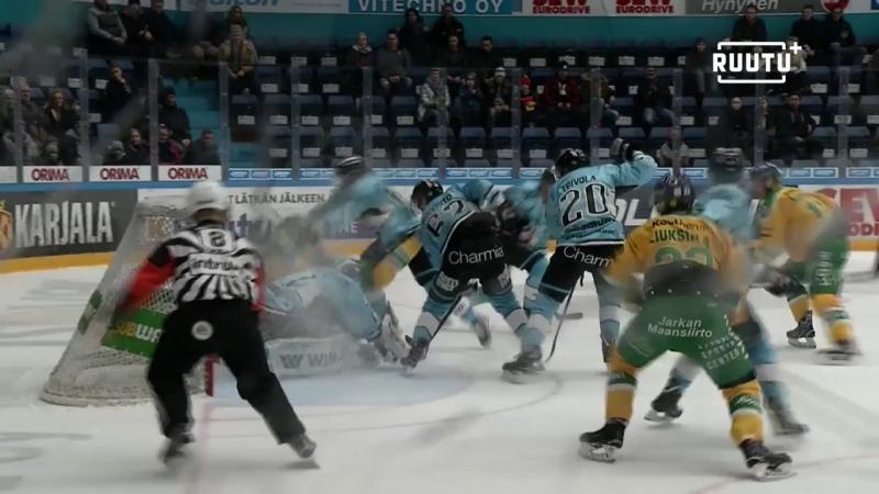 Pelicans - Ilves 5:4 (ОТ)(Обзор матча) Финский Хоккей╞╬═╡Suomen Jääkiekko