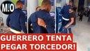 Guerrero briga com torcedor, Paolo Guerrero discute com torcedor do Flamengo