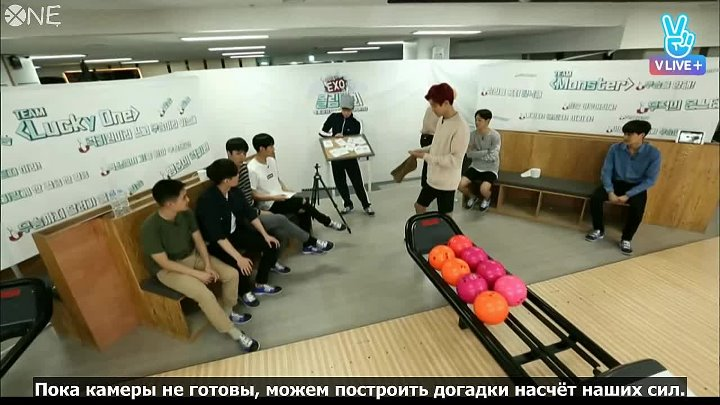 [РУС.САБ] EXO's Bowling Competition [EXOMENTARY SPORTS]