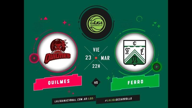 LaLigadeDesarrollo | 23.03.2018 Quilmes de Mar del Plata vs. Ferrocarril Oeste