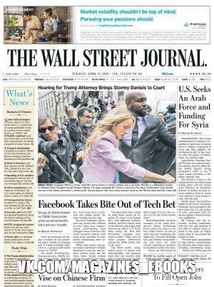 The Wall Street Journal - April 17 , 2018 #newspapers_mags PDF