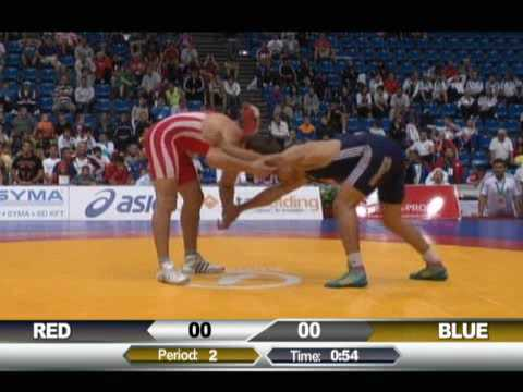 Muradin Kushkhov (UKR) vs. Taha Akgul (TUR) 120kg