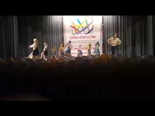 Выступление на конкурсе СИЛА ИСКУССТВА - Шоу-балет Эклипс Народно-стилизованный танец Педагог: Марихова Марина Вадимовна