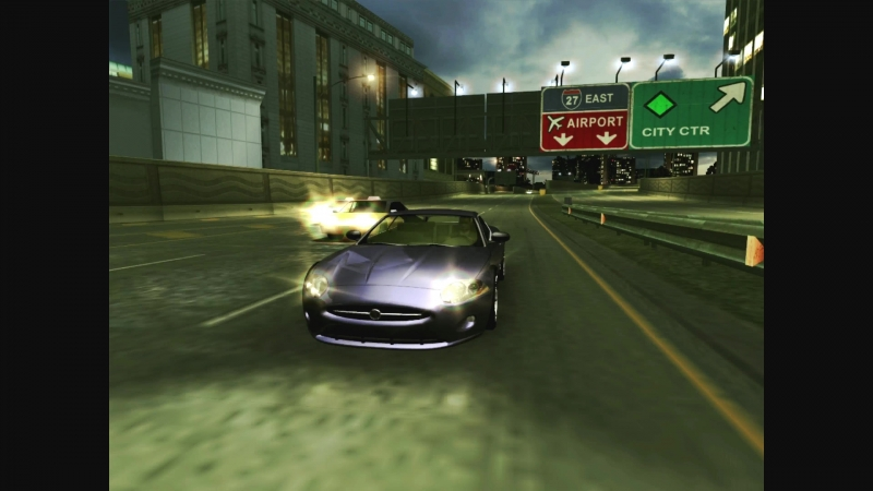 NFSU2SR Тест драйв Jaguar XK R