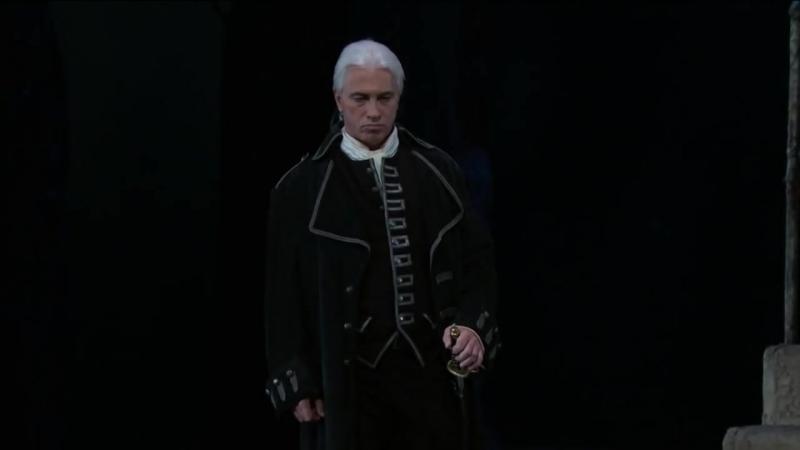 Опера Трубадур. Хворостовский, Нетребко, Ли 1 часть МЕТ, 04 10 2015