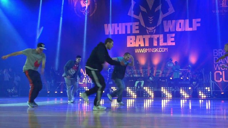 Comixzone VS Vagabonds ✘ CREWS 1/4 final ✘ White Wolf Battle 2018