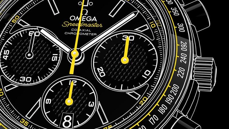 OMEGA Speedmaster Racing Calibre 3330 - Video Manual