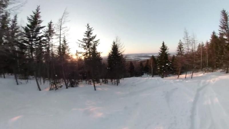 Sunset freeride