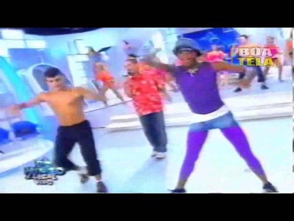 MC SERGINHO e LACRAIA ano 2003 Domingo Legal Dançarinos