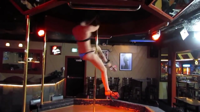 When strippers get bored ORIGINAL Trinity sky advanced spinning pole