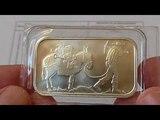 Второе серебряное изделие частного монетного двора SilverTowne,вес 31,1гр.,проба 999.