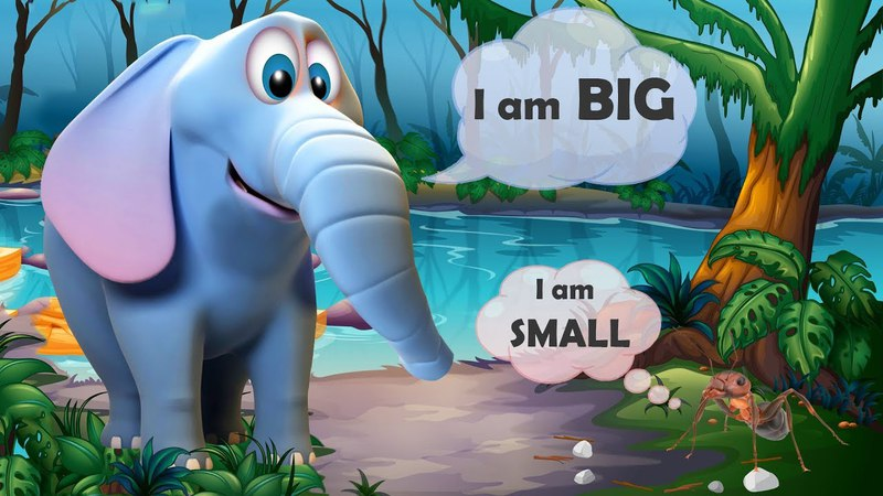 Big And Small Concept For Nursery | Big And Small For Kids | Learn Bigger and Smaller